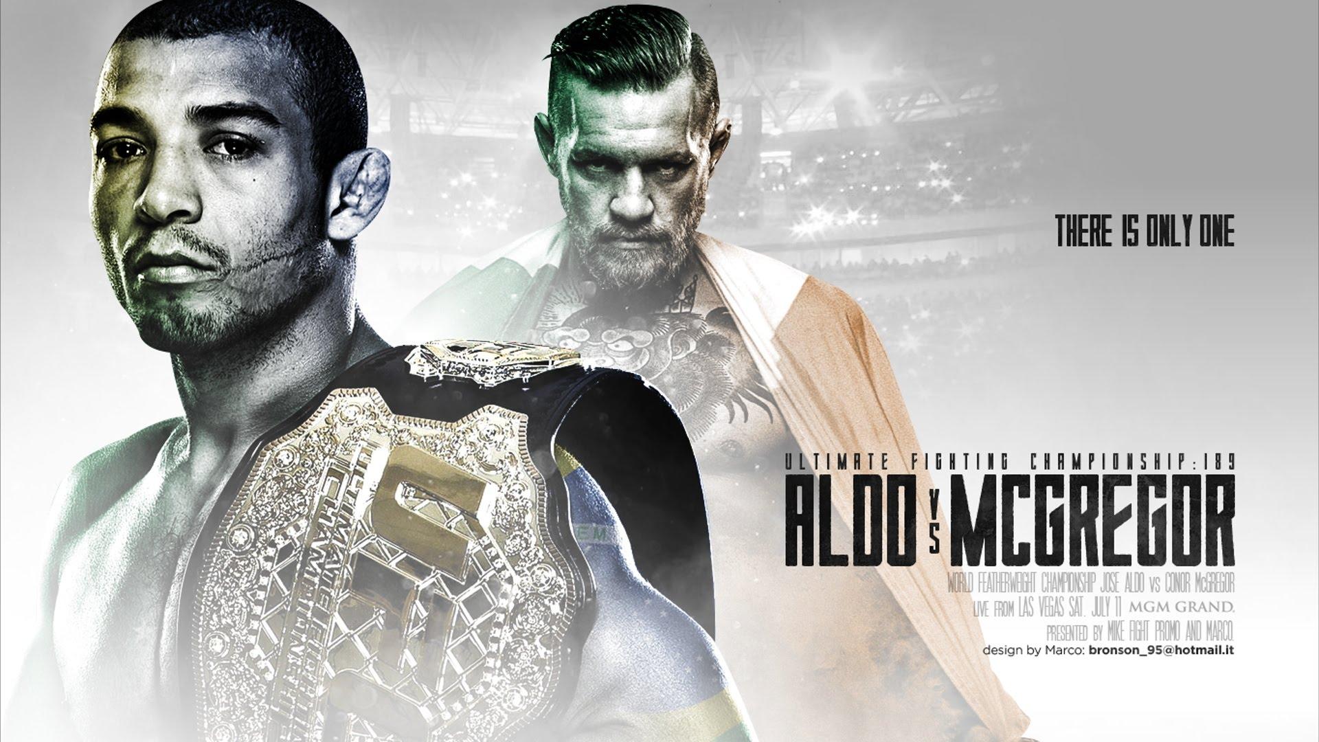 Após cair nas provocações, Aldo evita 'pilha' de McGregor e muda postura