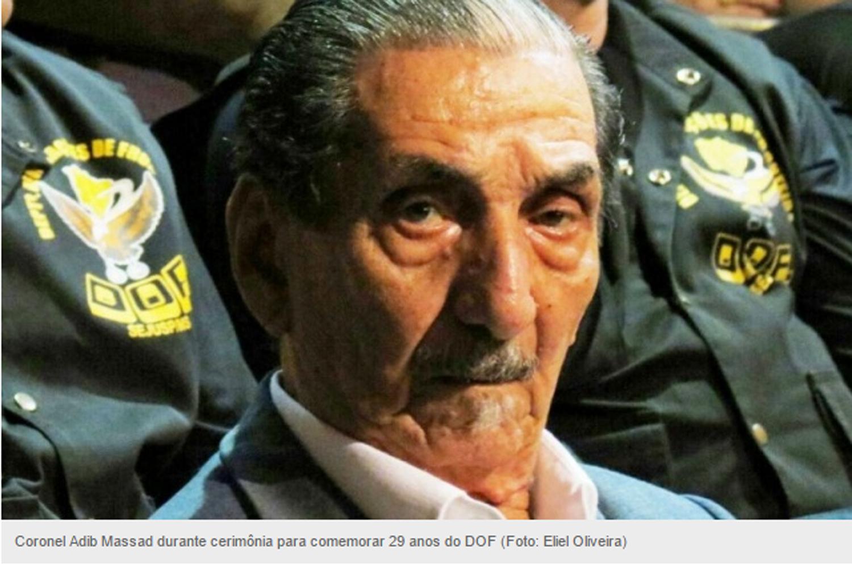 """Ex-comandante """"linha dura"""", Adib é reverenciado em aniversário do DOF"""