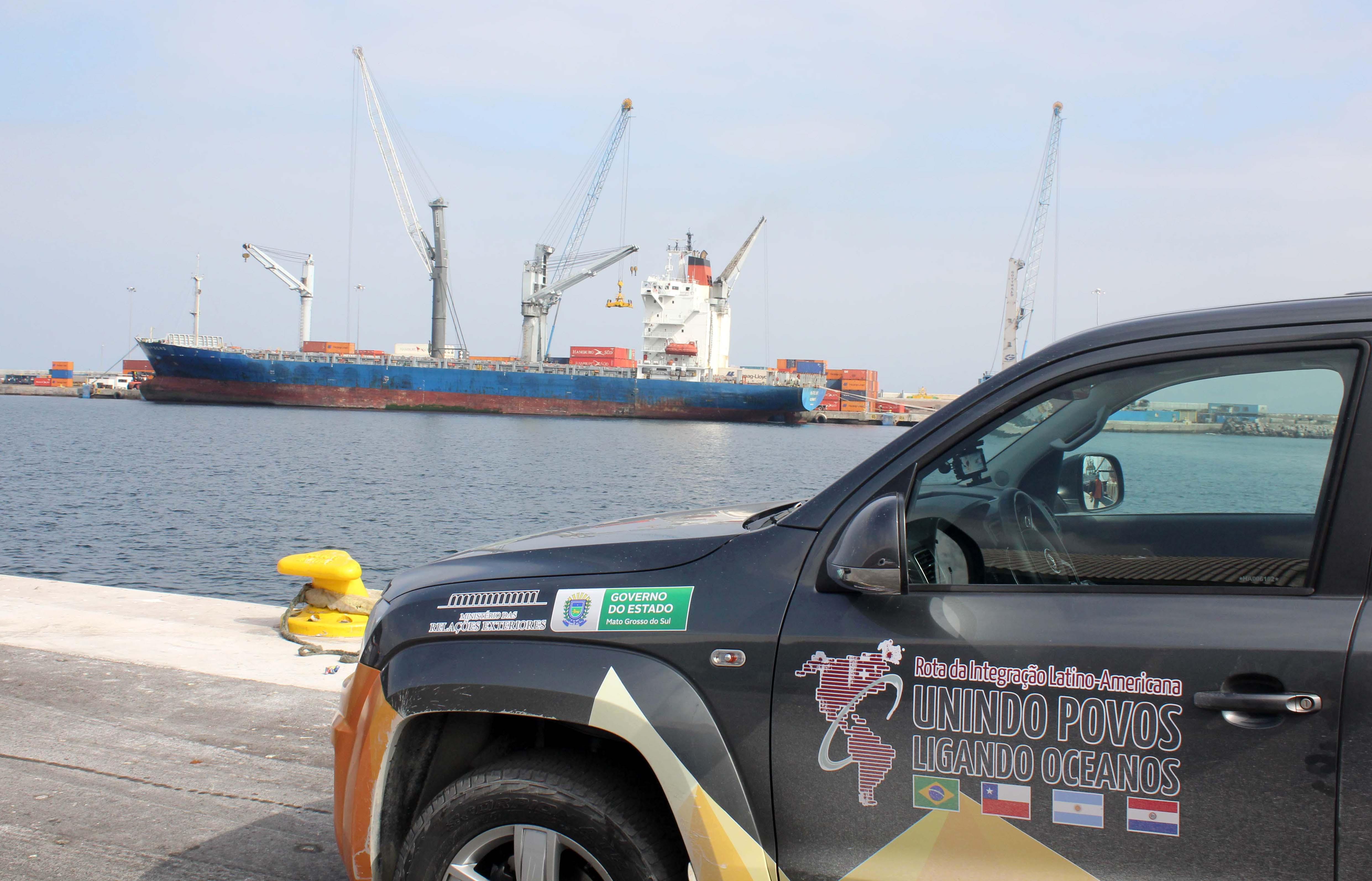 Murtinho participará da II Expedição da Rota de Integração Latino-Americana com destino aos portos do Chile.