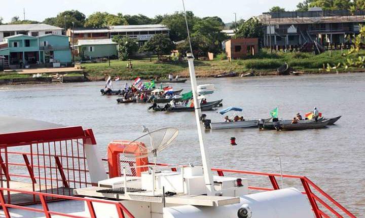Bloqueio em Porto Murtinho continua e preocupa cônsul e ministério paraguaio