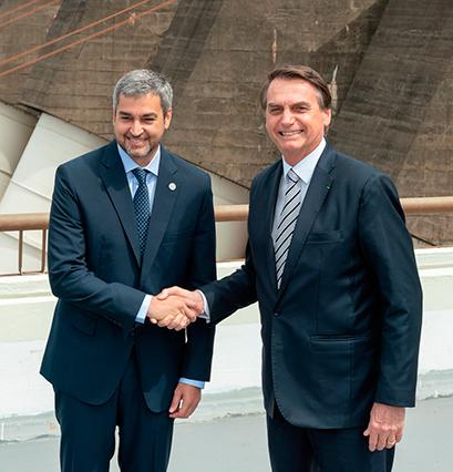 Bolsonaro confirma construção de ponte entre Porto Murtinho e Carmelo Peralta