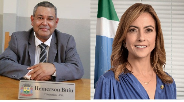 Hemerson Buiu PSL solicita emenda à senadora Soraya Tronick para aquisição de Micro Ônibus para APAE de Bela Vista