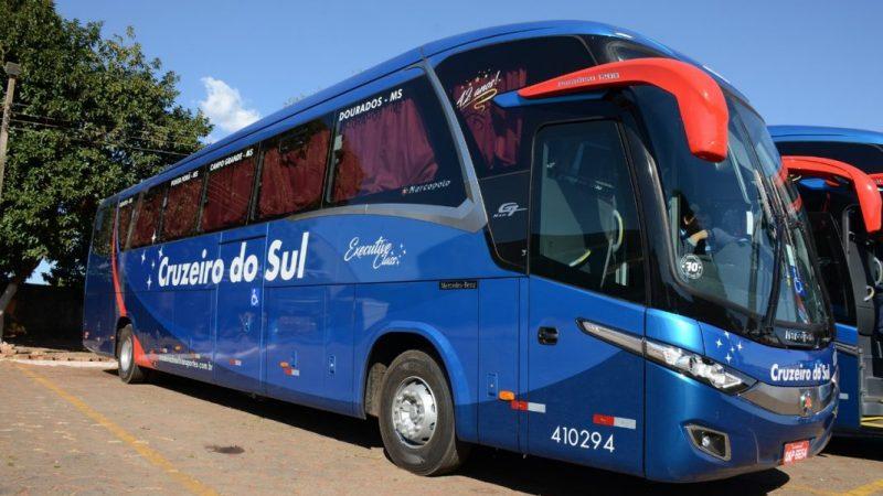 Viação Cruzeiro do Sul investe em nova frota de ônibus que atenderá Bela Vista e região