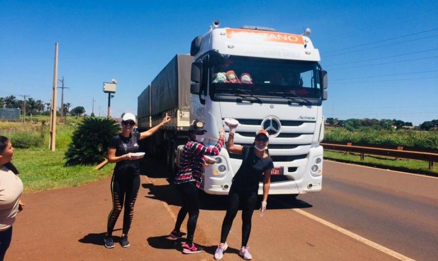 Em meio à crise do coronavírus, restaurante distribui marmitas para ajudar caminhoneiros em MS