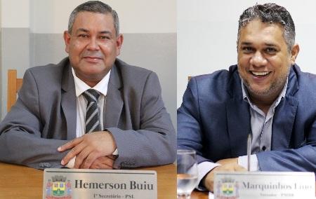 Vereadores Marquinhos Lino e Hemerson Buiu pedem informações sobre o numero de cestas básicas distribuídas pela Assistência Social