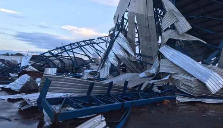 Tempestade que atingiu MS com granizo teve até tornado com ventos de 147 km/h