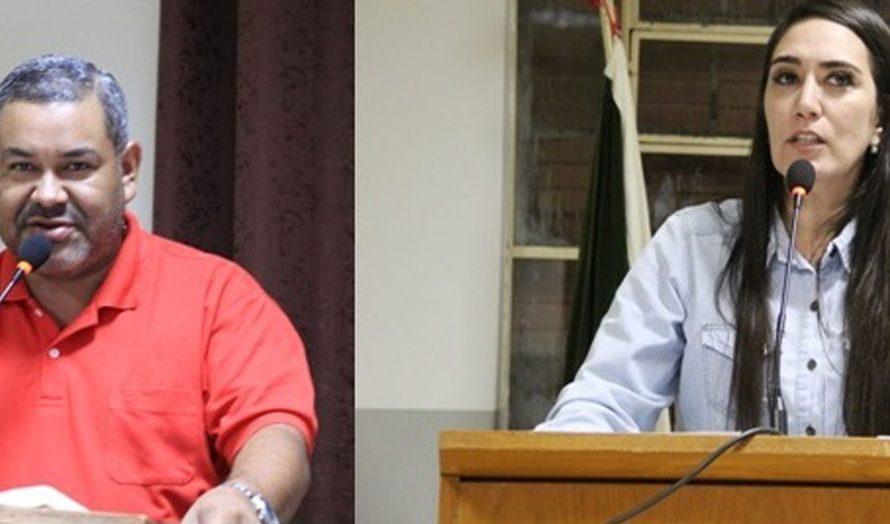 Hemerson Buiu e Fabrizia Tinoco reivindicam colocação de bueiro no Cativi