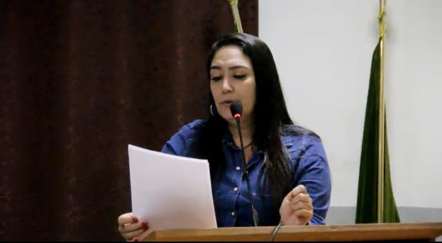 Vereadora Fabrizia Tinoco cobra informações a respeito de emenda do ex-senador Pedro Chaves