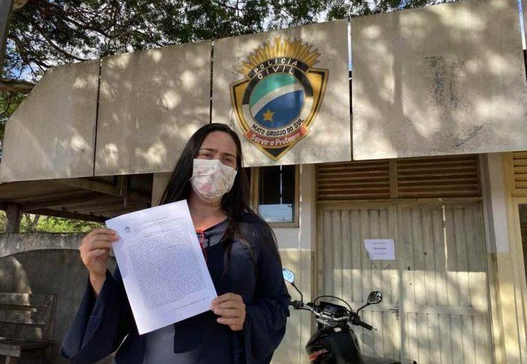 Após denúncia de agressão, justiça concede medida protetiva para vereadora Fabrizia Tinoco
