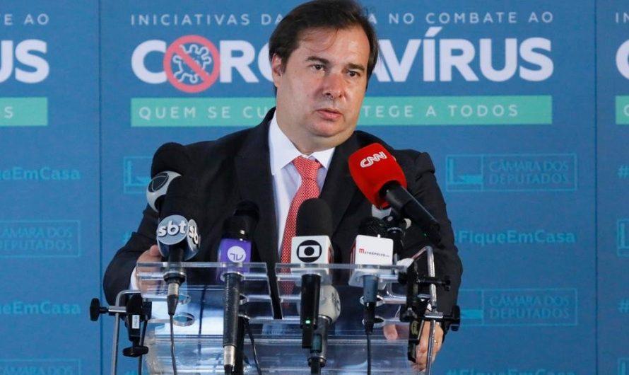Eleições de 2020 devem ser adiadas, afirma Rodrigo Maia