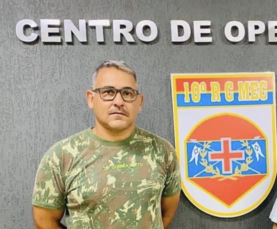 Após campanha para arrecadar alimentos, vereador Diogo Murano pede moção de aplausos para o comando do 10 RC Mec