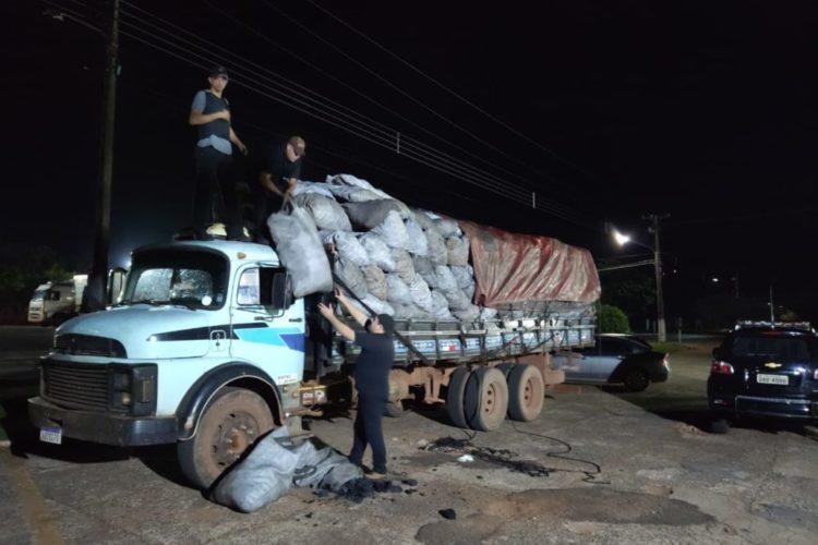 Carga de carvão que saiu de Bela Vista escondia 4 toneladas de maconha