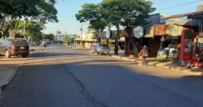"""Vizinha de MS, cidade paraguaia declara """"catástrofe econômica"""""""