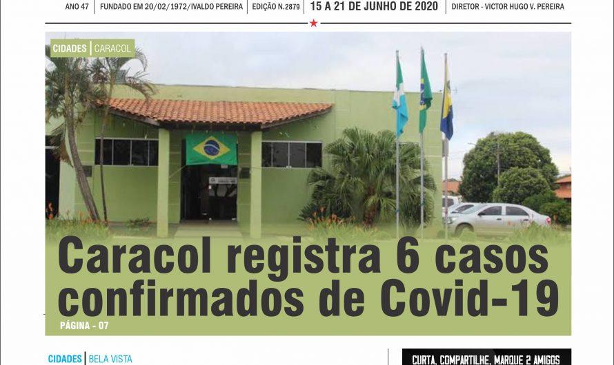 JORNAL TRIBUNA DA FRONTEIRA – EDIÇÃO N. 2879