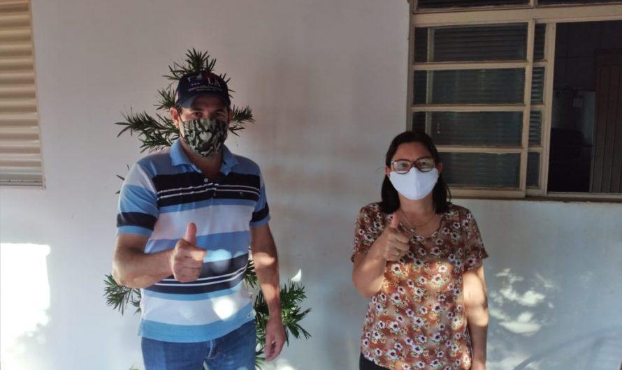 Após se descompatibilizar do cargo, ex-vereadora Janete Leite Cardoso fortalece projeto político do MDB de Caracol