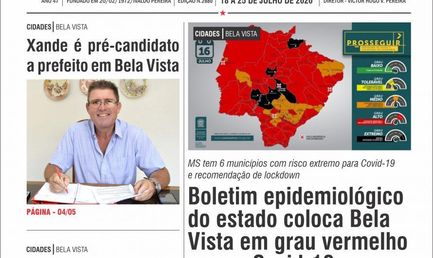 JORNAL TRIBUNA DA FRONTEIRA – EDIÇÃO N. 2880