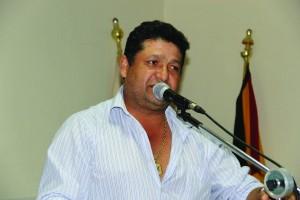 Vereador Alcyr Mendonça. Foto. Ademir Mendonça
