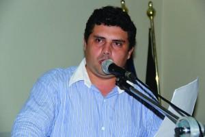 Vereador Jhonnys. Foto. Ademir Mendonça