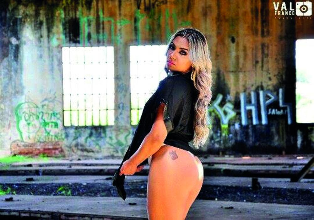 Ensaio fotográfico da modelo Ariane Silva Rachid
