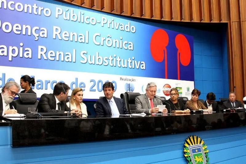 ALMS sedia encontro sobre doença renal crônica com presença do Ministro da Saúde