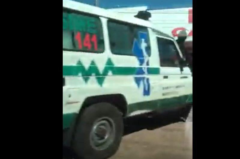 Com fronteira fechada, ambulância paraguaia é flagrada em cidade de MS
