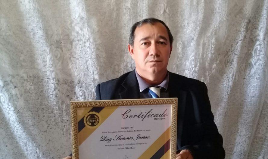 LUIZ JARSON é considerado vereador mais atuante conforme pesquisa realizada em Caracol