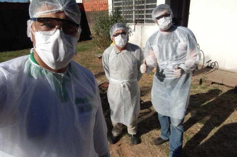BELA VISTA ISOLA DOMICILIO DE PACIENTE POSITIVA AO CORONAVÍRUS E REALIZA DESINFECÇÃO
