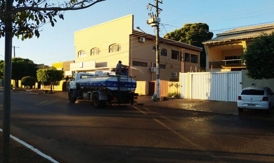 Guia Lopes da Laguna adere a desinfecção nas ruas para evitar contágio de coronavírus