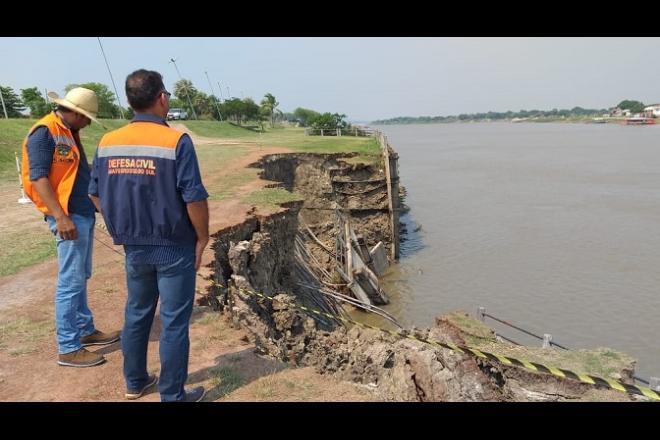 Recuperação do dique de Porto Murtinho vai custar R$ 2 milhões