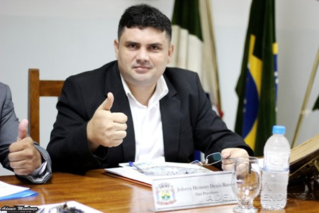 Vereador Johnys Basso apresenta várias reivindicações de melhorias