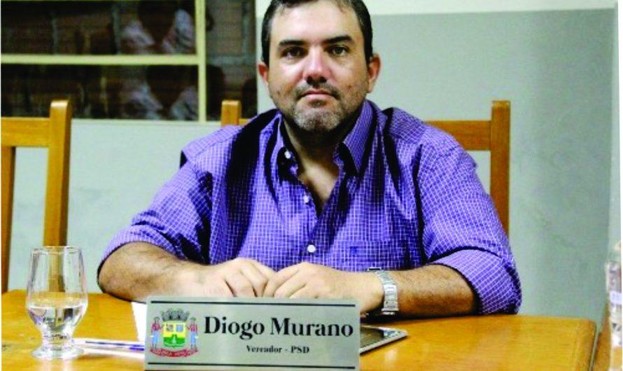 Vereador Diogo Murano faz balanço positivo do seu primeiro mandato