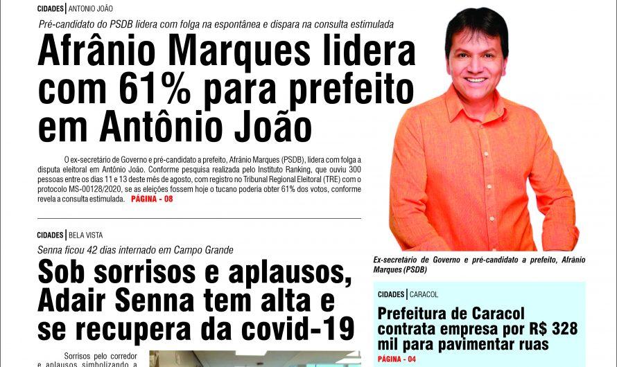 JORNAL TRIBUNA DA FRONTEIRA 0 EDIÇÃO N. 2881