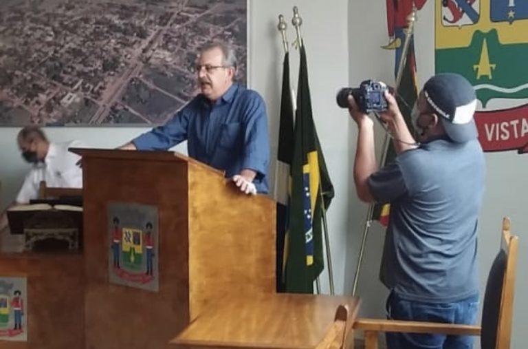 Em convenção partidária, Patriota define ex-vereador Julio Leite como candidato a prefeito e Dolossandro Levino como vice