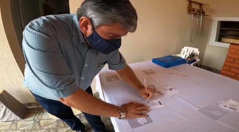 Em convenção do PSDB, prefeito Reinaldo Piti confirma candidatura à reeleição