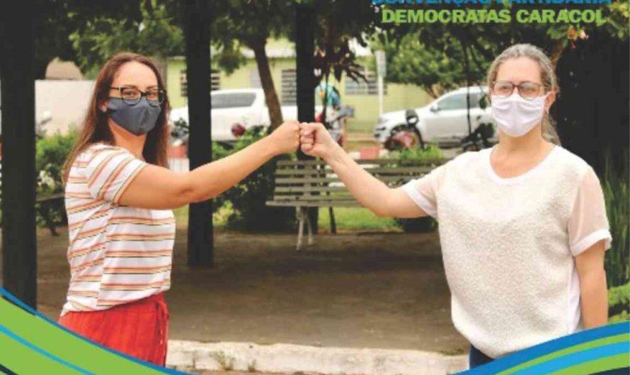 Convenção homologa candidatura de Valeria Lopes e Cristiane Godoy em Caracol