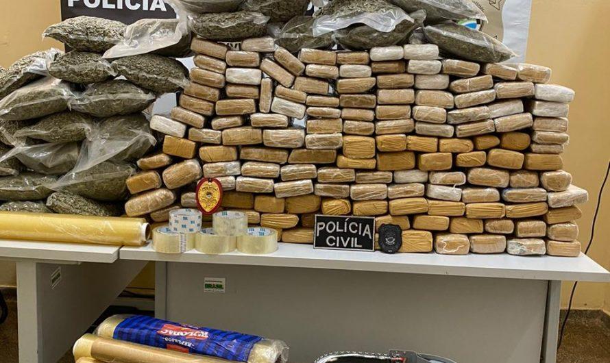 POLÍCIA CIVIL DESARTICULA ORGANIZAÇÃO CRIMINOSA E PRENDE 4 POR TRAFICO DE DROGAS EM BELA VISTA.