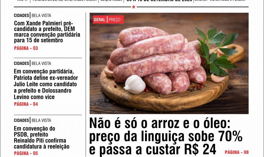 JORNAL TRIBUNA DA FRONTEIRA – EDIÇÃO N. 2884