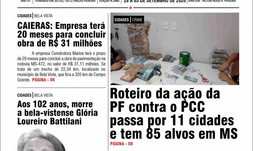 JORNAL TRIBUNA DA FRONTEIRA – EDIÇÃO N. 2882