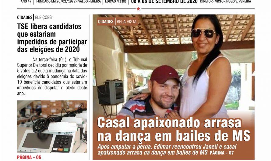 JORNAL TRIBUNA DA FRONTEIRA – EDIÇÃO N. 2883