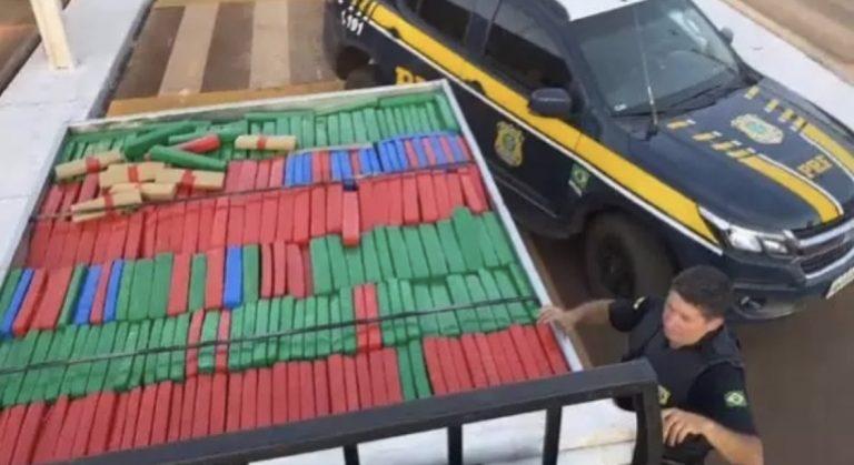 BELA VISTA: Traficante é parado em barreira e preso com mais de 3 toneladas de maconha