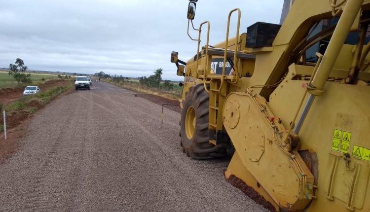 Pavimentação da MS-166, entre Cabeceira do Apa e Antônio João, vai custar R$ 31,8 milhões