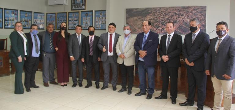 Posse do prefeito Reinaldo Piti, vice Daniel Palomares e vereadores de Bela Vista