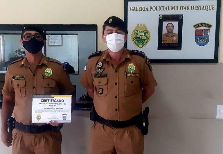 Bela-vistense é destaque por sua atuação e dedicação na polícia militar do Paraná