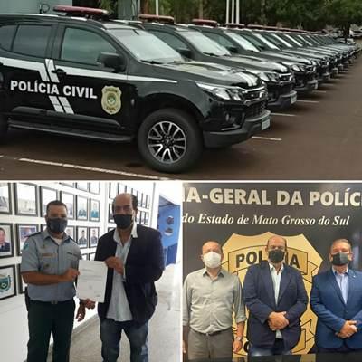 Novas Viaturas para Policia Civil e Policia Militar de Bela Vista