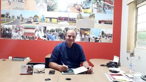 No primeiro dia de trabalho Neco Pagliosa ′Faremos uma excelente gestão′