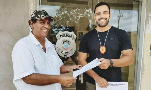 Bela Vista: Vereador Bispo luta pela segurança do município