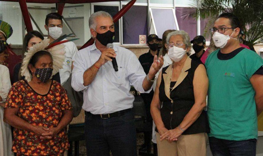 MS é 6º do País a iniciar vacinação contra covid