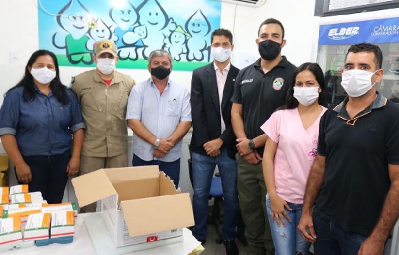 Bela Vista recebe 816 doses da vacina Coronavac e 408 pessoas devem ser vacinadas nesta terça-feira