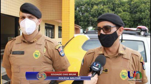 Ao lado do companheiro de farda, policial bela-vistense salva a vida de idoso com cardiorrespiratório no Paraná