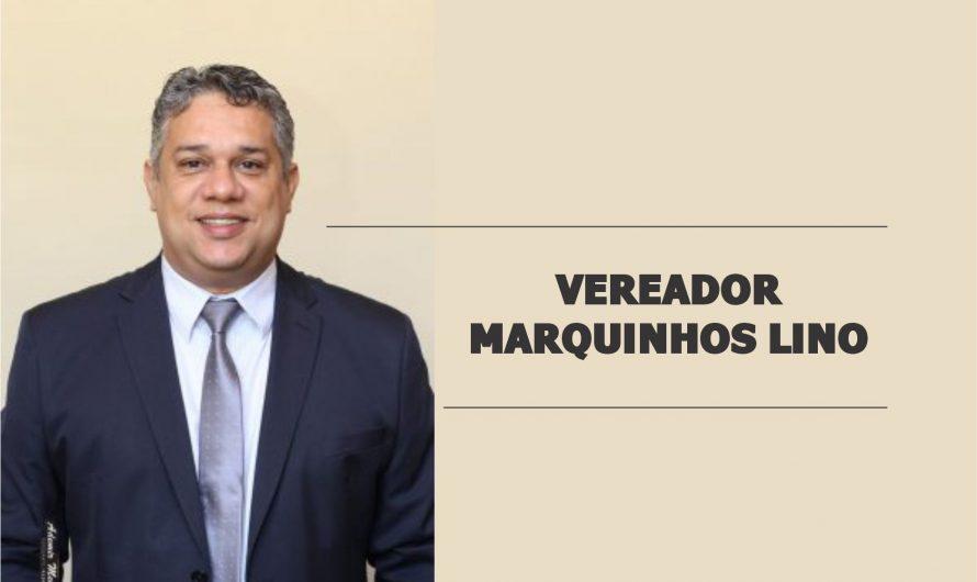 Marquinhos Lino reivindica troca de lâmpadas na Praça Álvaro Mascarenhas, melhorias na Vila João de Barro e Rua Eduardo Peixoto